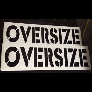 Blech Oversize